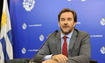 """El ministro de Turismo, Germán Cardoso, dijo que aún no habló """"personalmente"""" sobre el tema con el presidente Lacalle Pou"""