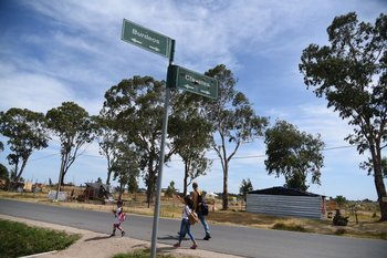 Ocupación de tierras y nuevo asentamiento en el barrio Santa Catalina