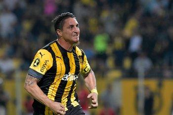 Cebolla Rodríguez jugó los últimos 50 meses en Peñarol