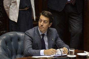 El senador nacionalista Juan Sartori.