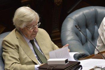 El contador participó en la elaboración de una serie de medidas que propuso el Frente Amplio al gobierno de Luis Lacalle Pou