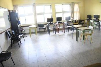Salón de clases vacío