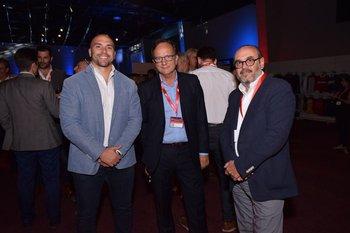 Santiago Fresia, Juan pedro Flores y Jorge Ginel