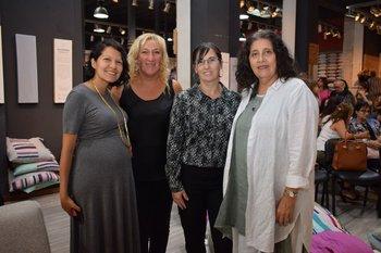 Julieta Melendes, Adriana Dominguez, Rosana Sosa y María del Carmen Crapelli