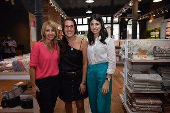 Yanebell pereira, Paola Ruggeri y María Eugenia Baquete