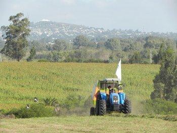 La Expo Melilla se realiza en un predio del área rural de Montevideo, sobre camino Pérez.