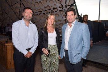 Gonzalo Odizzio, Elena Rodríguez y Guzman Nebel