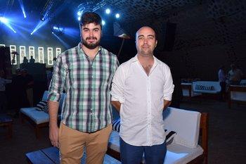 Santiago Fernández y Rodrigo Barcia