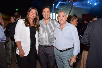 Alejandra Falero, Leonardo Romero y Julio Cabrera