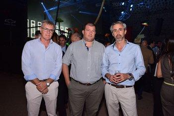 Daniel Etchemendy, Marcelo Zapatella y Adrian Schoffer