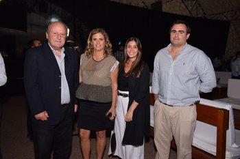 Francisco La Cava, Genoveva Martorano, Carolina San Román y Felipe Martorano