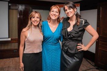 Cecilia Olivera, Camila Cibils y Paula Echevarría