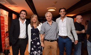 Diego Sorondo, Gabriela Imperio, Pablo Chavarria y Mathias Barizo