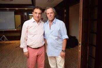 Nano Folle y Roberto Matta Karam