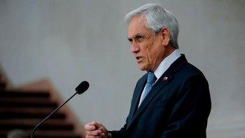 Sebastián Piñera decretó el estado de excepción en Chile por 90 días a partir de este jueves