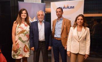 Florencia Malo, Carlos Vallejo, Miguel Condon y Virginia Geninazzi