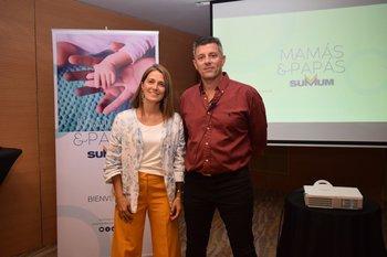 María Claramunt y Pablo Romero
