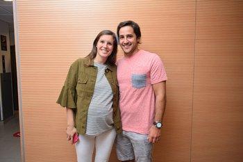 Mariana Di Candia y Santiago Decia