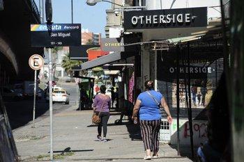 Calle del barrio Paso Molino en Montevideo,