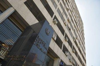 Edificio sede del Banco Central.