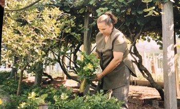 La quinta de Lía Ricchetto tiene 40 años, pero hace 20 que ella la trabaja.