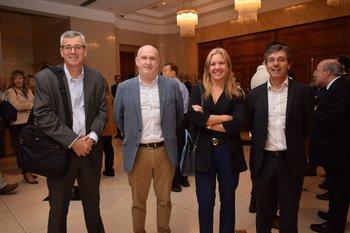 Pablo Rivao, Marcela Tebat, Cecilia Maccio y Guillermo Viola