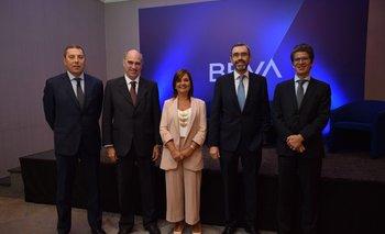 Gabriel Oddone, Javier De Haedo, Rosario Corral, Alberto Charro y Pablo Rosselli