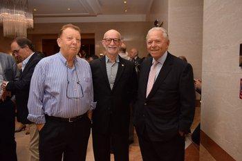 Jaime Kacoddicz, Jacobo Wolkowicz y Enrique Manhard