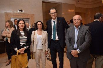 Mariana Pisón, Sylvina Bluth, Jonás Bergstein y Edgardo Villanueva