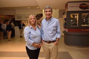 Gabriela Bresciani y Berch Rupenian