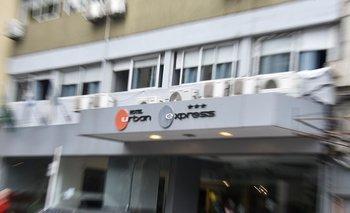 Hotel Urban Express, en el Centro de Montevideo