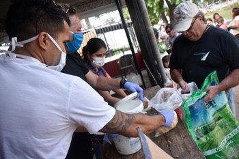 Las ollas populares resurgieron con la pandemia