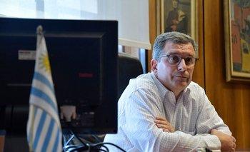 El presidente de Ancap, Alejandro Stipanicic.