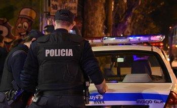 El vehículo de Da Silveira fue abandonado luego de ser robado por tres delincuentes