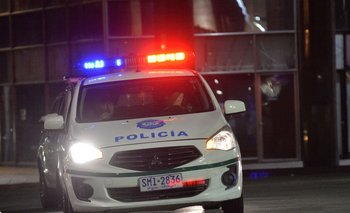Patrullero de la Policía Nacional