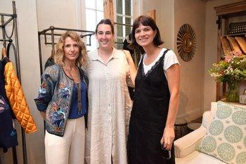 Tina Garrett, Inés Viacava, Lucila Pérez Parra