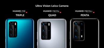 Los tres nuevos modelos del gigante chino