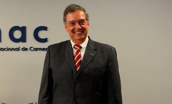Fernando Mattos cuando era presidente del INAC