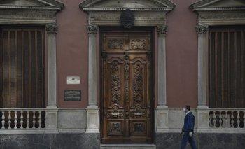 Palacio Santos, sede de la Cancillería