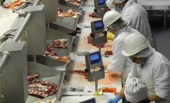 Trabajadores de la industria frigorífica