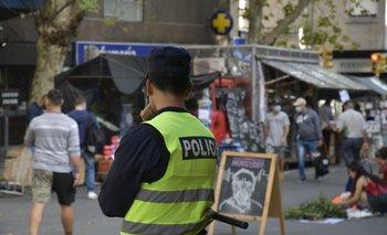 La policía vigiló las ferias este fin de semana