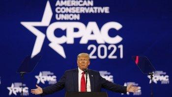 Trump abrió la puerta a volver a presentar una candidatura presidencial en 2024.