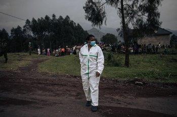 Un trabajador de la salud en North Kivu (Congo)