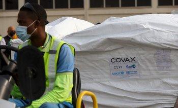 Ghana fue de los primeros países en recibir dosis del plan Covax