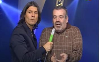 Marcelo Tinelli y Carlos Sánchez en VideoMatch