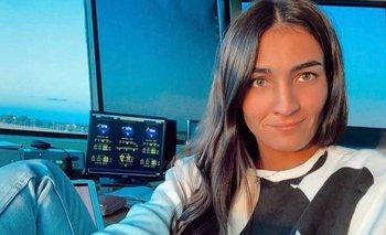 Chloé Llovet, la controladora aérea que fue llamada por el presidente Luis Lacalle Pou