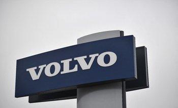 Logo de Volvo