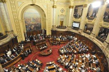 El presidente Luis Lacalle Pou presenta su balance de un año de gestión ante la Asamblea General