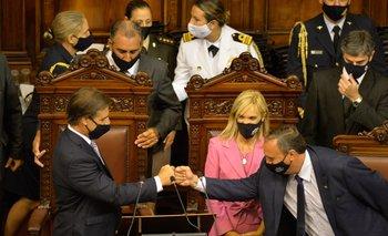 Lacalle Pou se presenta ante la Asamblea General