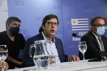 La respuesta del Frente Amplio  al discurso de Lacalle ante el Parlamento fue muy dura